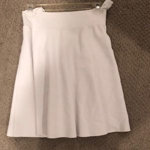 Club Monaco white thick skirt